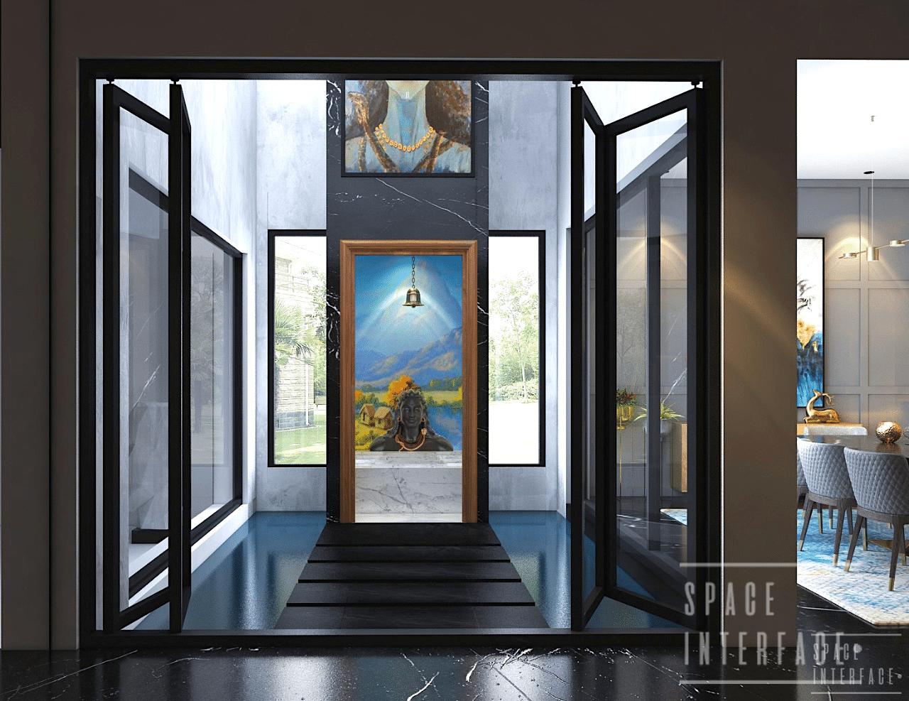 Courtyard Design, Bisht Residence